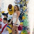Anitta foi ovacionada pelo público que lotou o estádio