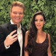 Michel Teló inicia gravação das audições às cegas de 'The Voice Brasil' e recebe apoio da esposa