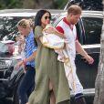 Meghan Markle e Príncipe Harry fazem primeira aparição juntos com o bebê Sussex em evento descontraído nesta quarta-feira, dia 10 de julho de 2019