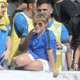 Filho de Neymar, Davi Lucca participou de evento do instituto do jogador