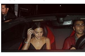 Bruna Marquezine é flagrada com ex de Kardashian em Los Angeles. Veja foto!