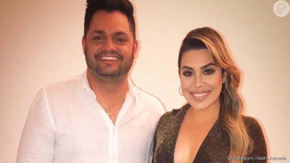 Naiara Azevedo ganhou comentário do marido, Rafael Cabral em foto no Instagram