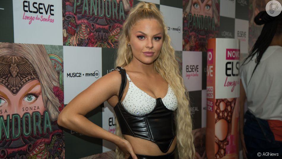 Luísa Sonza lança turnê do álbum 'Pandora' com show na Áudio Club, em São Paulo, na madrugada desta quinta-feira, 18 de julho de 2019