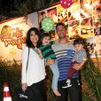 Pedro, de 3 anos, e Antonio, de 1 são fruto da união de Juliana Paes com o empresário