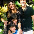 Juliana Paes não abre mão dos momentos em família quando tem folga da rotina de gravação