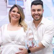 A alegria de Marilia Mendonça e Murilo Huff em chá revelação de Léo em 30 fotos