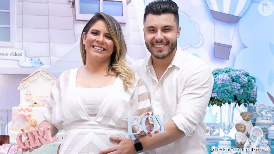 Marilia Mendonça  descobriu o sexo do bebê que espera de Murilo Huff