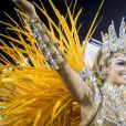 Paloma (Grazi Massafera) mostrou a paixão pelo samba na novela 'Bom Sucesso'
