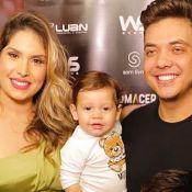 Filho caçula de Wesley Safadão, Dom arrisca primeiros passos aos 10 meses. Veja!