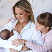 Ticiane Pinheiro amamenta filha caçula e Rafaella Justus observa mãe: 'Ama ver'