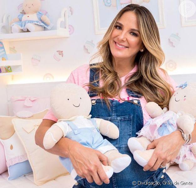 Ticiane Pinheiro mostrou o closet da filha Manuella em vídeo no seu canal no YouTube