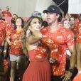 Juliana Paes esclarece que não aconteceu nenhuma briga com o marido, o empresário Calrdos Eduardo Baptista, em camarote da Sapucaí, no Rio, em 20 de fevereiro de 2013