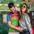 Alok e Romana Novais estão esperando o 1º filho nesta sexta-feira, dia 09 de agosto de 2019