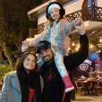 Maiara homenageia Fernando por Dia dos Pais: 'Me inspira'