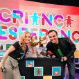 Angélica e Tadeu Schmdt celebram o fenômeno do 'Criança Esperança'