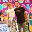 Estilo! Calça de Ana Furtado roubou a cena durante participação com Cauã Reymond