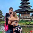 Anitta e Pedro Scooby assumiram o romance em junho deste ano, durante uma viagem do casal a Bali, na Indonésia