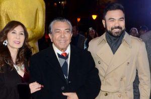 Em momento raro com o filho, Mauricio de Sousa recebe Troféu Cidade de Gramado