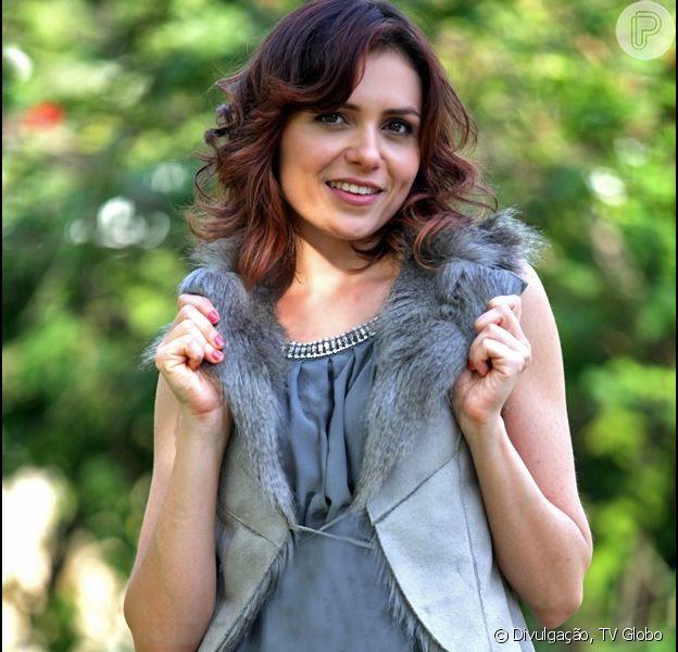 Monica Iozzi estreia como atriz de novela em 'Alto Astral', em 3 de novembro de 2014
