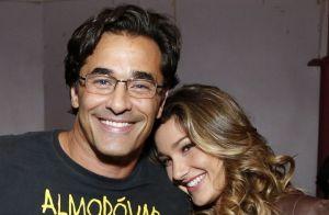 Momentos de pai e filha! Luciano Szafir posta fotos com Sasha:'Minha pequeninha'