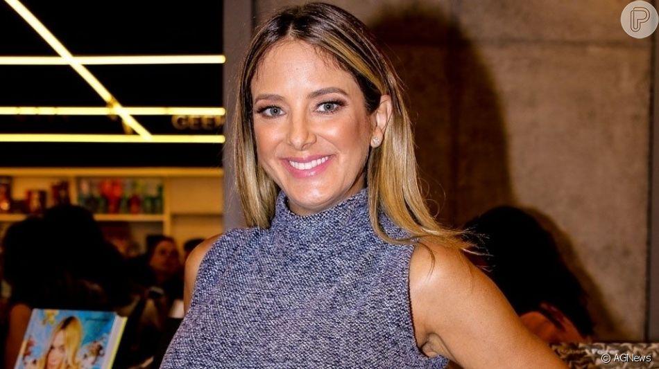 Ticiane Pinheiro contou quando vai voltar para o programa 'Hoje em Dia' nesta segunda-feira, 2 de setembro de 2019