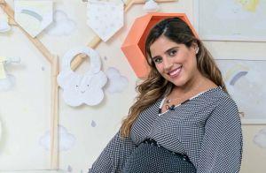 Camilla Camargo quer apresentar filho, Joaquim, a Zoe e Manu: 'Não vejo a hora'