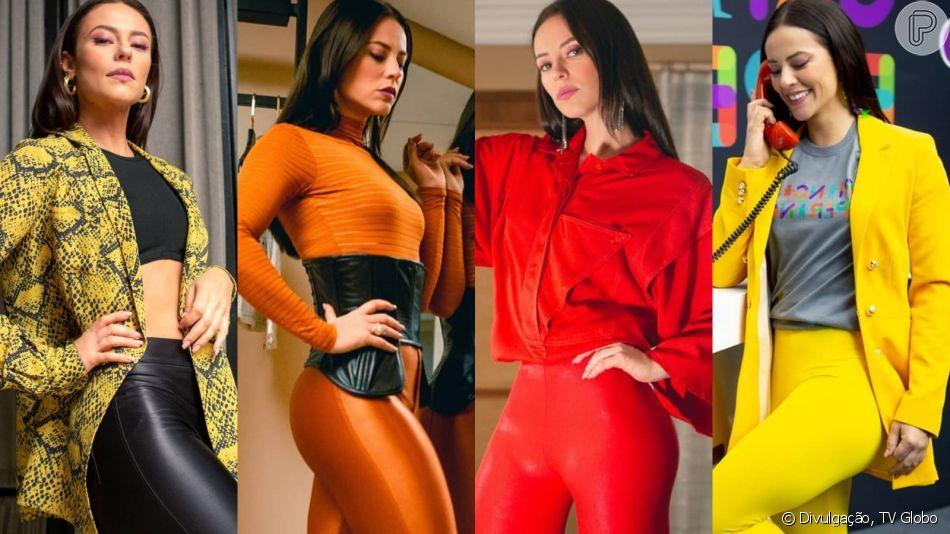 Novela 'A Dona do Pedaço': Vivi Guedes lança moda com calça diferentona