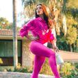 Novela 'A Dona do Pedaço': Vivi Guedes aposta em calças coloridas