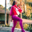 Novela 'A Dona do Pedaço': Vivi Guedes usa moletons com calça colada