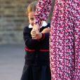 Filha de Kate Middleton e Príncipe William, Charlotte se esconde em 1ª dia na escola nesta quinta-feira, dia 05 de setembro de 2019