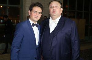 Filhos gêmeos de Erick Jacquin aparecem em foto com irmão: 'Estamos com saudade'