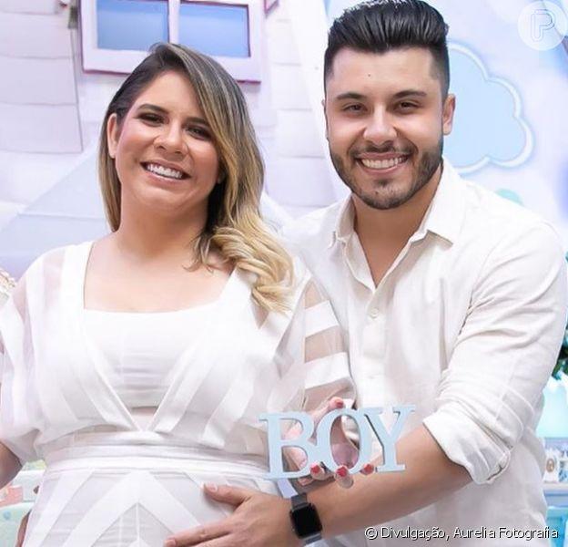 Marilia Mendonça divide com fãs momento raro com o namorado, Murilo Huff