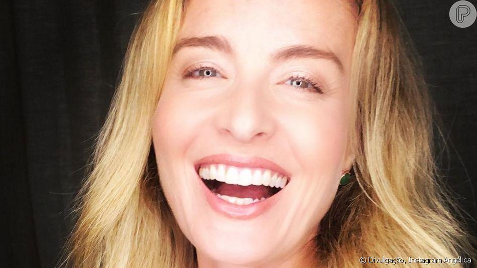 Angélica foi flagrada neste sábado, 7 de setembro de 2019, em um momento de descontração por Luciano Huck