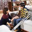 Bento (Davi Campolongo) descobre que Ruth (Mirian Ryos) não é sua tia na novela 'As Aventuras de Poliana'