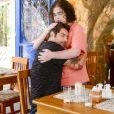 Afonso (Victor Percoraro) e Débora (Lisandra Parede) não se casam e ele fica desolado na novela 'As Aventuras de Poliana'