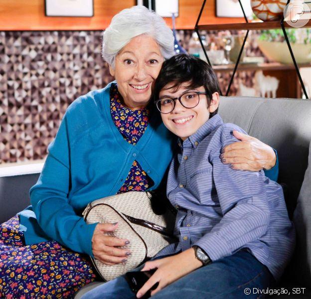 Bento (Davi Campolongo) descobre que Serena é sua avó na novela 'As Aventuras de Poliana'