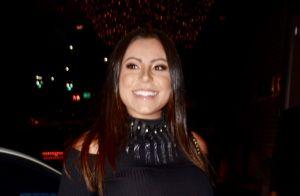 Mulher de Thammy Miranda deixa à mostra barrigão de gravidez em evento. Fotos!