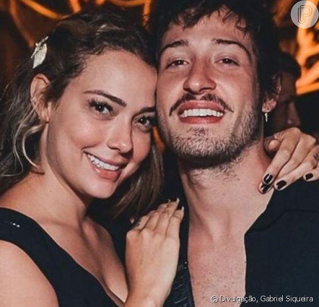 Filho de Carol Dantas e Vinícius Martinez, Valentin nasceu neste sábado, 14 de setembro de 2019