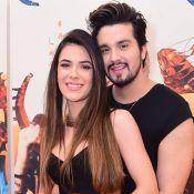 Jade Magalhães aceita pedido de casamento de Luan Santana em passeio de balão