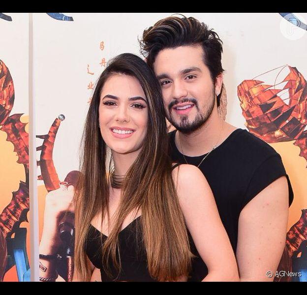 Luan Santana pediu Jade Magalhães em casamento nesta segunda-feira, 16 de setembro de 2019