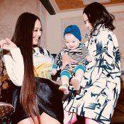 Encontro de fashionistas! Bruna Marquezine encontra Sabrina Sato e Zoe em Milão