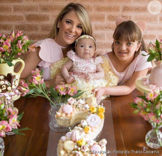 Ticiane Pinheiro contou como foi o encontro da filha Rafaella Justus com a irmã, Manuella