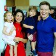 Filha de Thais Fersoza e Teló, Melinda surpreende atriz com atitude em brincadeira nesta sexta-feira, dia 27 de setembro de 2019