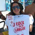 Anitta chegou para se apresentar pela primeira vez no Rock in Rio, neste sábado, 5 de outubro de 2019