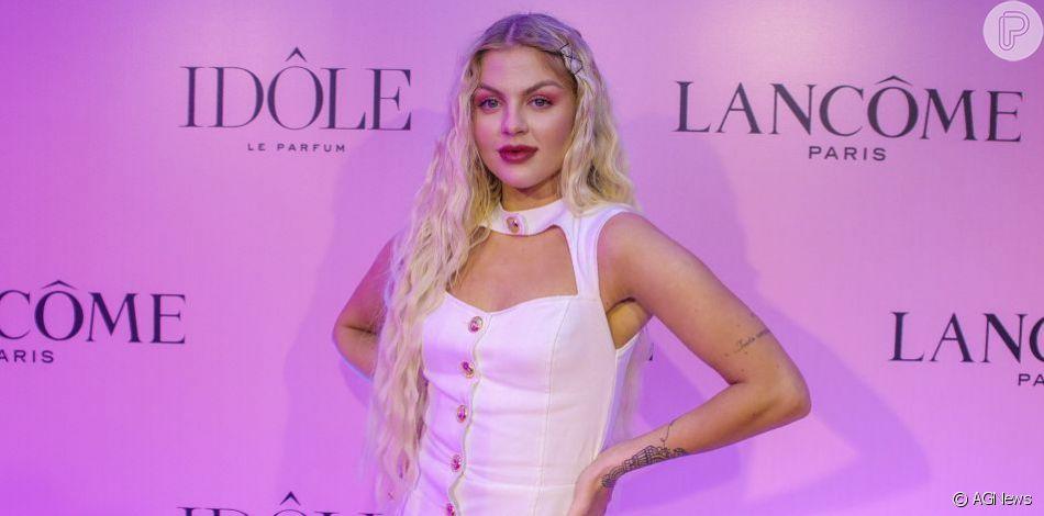 Luísa Sonza se apresenta no 'Dança' com costela fraturada e é elogiada por internautas, em 6 de outubro de 2019