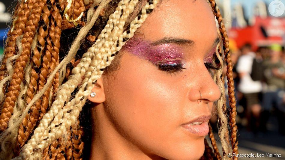 O street style do Rock in Rio teve maquiagens incríveis para você se inspirar!