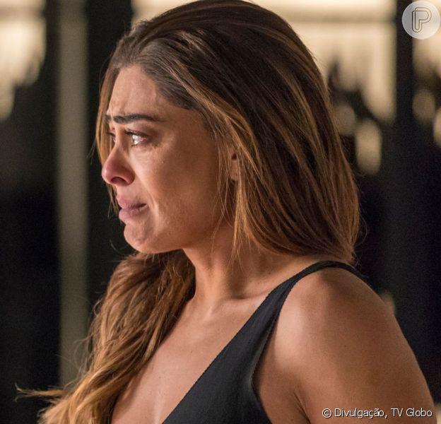 Na novela 'A Dona do Pedaço', Maria da Paz (Juliana Paes) receberá a notícia dos dois assassinatos cometidos por Josiane (Agatha Moreira)