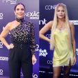 Famosas elegem looks repletos de trends para festa Conexão Globosatno Golden Hall WTC, em São Paulo, nesta quinta-feira, 10 de outubro de 2019