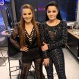 Maiara e Maraisa se emocionam por canção especial em ensaio do programa 'Só Toca Top' nesta segunda-feira, dia 14 de outubro de 2019