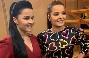 Maiara e Maraisa se emocionam ao cantar música durante ensaio do 'Só Toca Top'